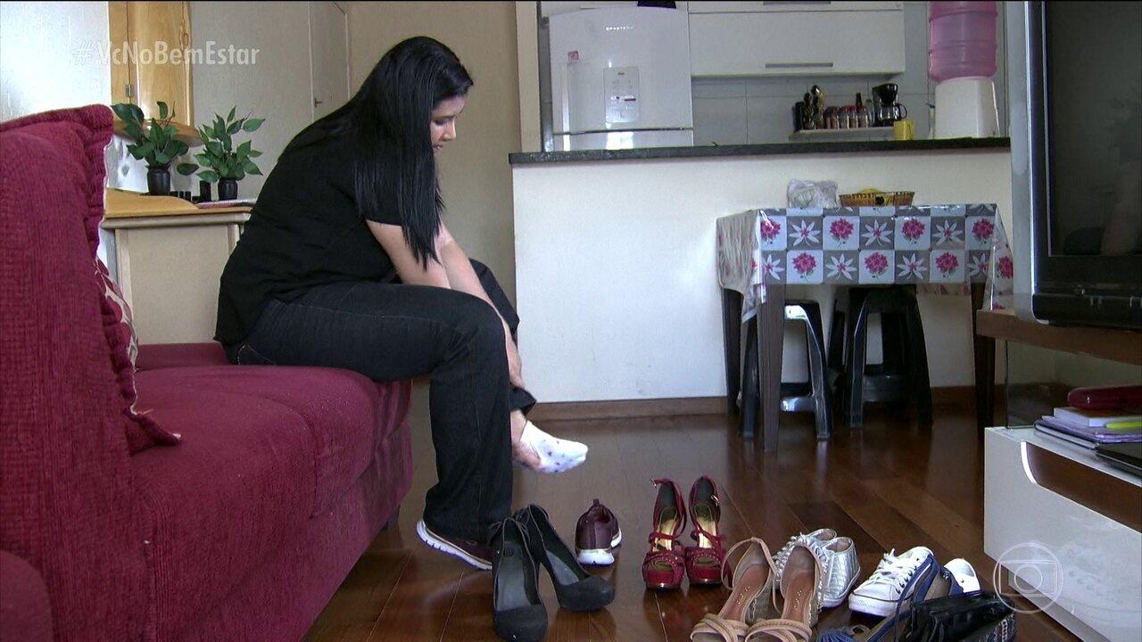 Calçado inadequado pode provocar tendinite nos pés