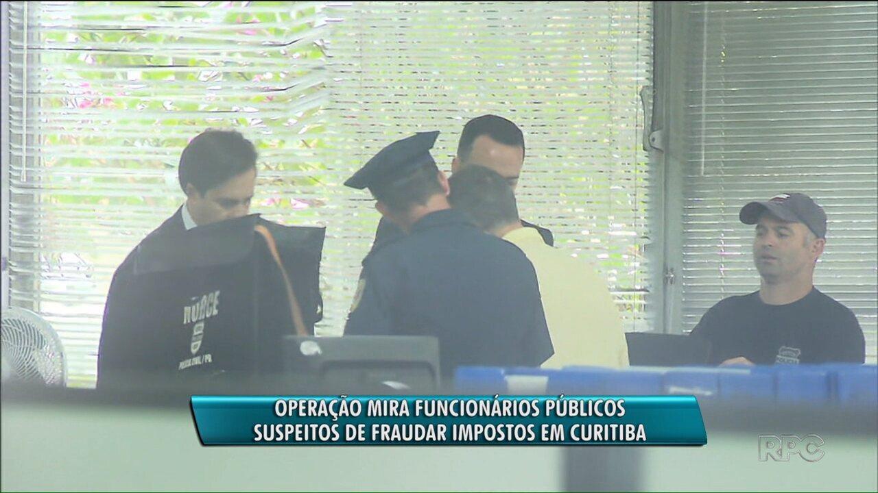 Polícia investiga quadrilha que fraudava impostos em Curitiba