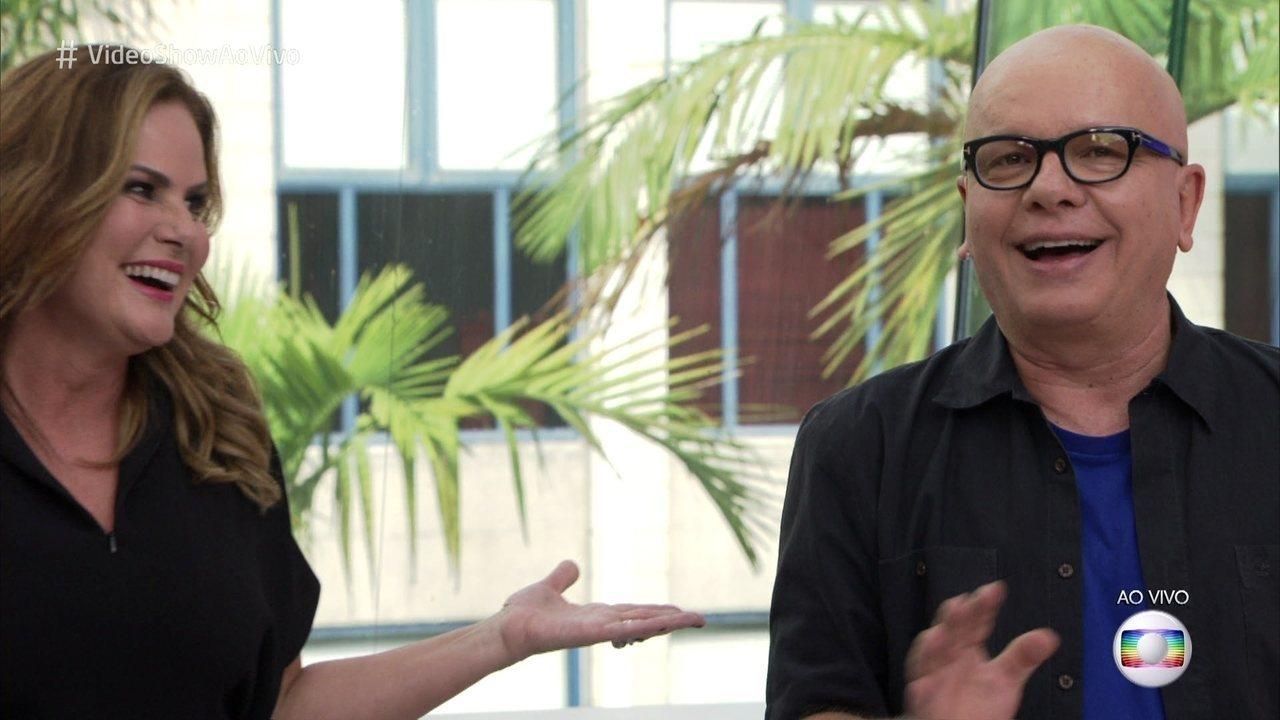 Marcelo Tas e Renata Ceribelli relembram época em que apresentavam o 'Vídeo Show'