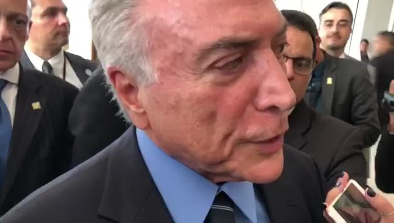 Temer afirma que intervenção no Rio de Janeiro receberá R$ 1 bilhão