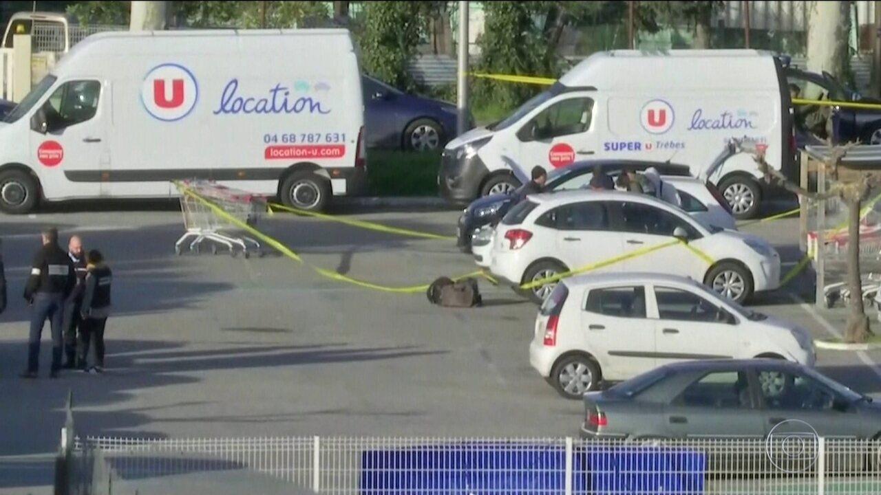 Terrorista mata três no sul da França