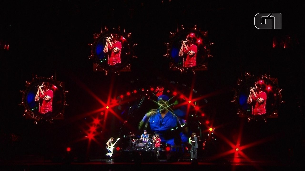 "Red Hot Chili Peppers toca ""Snow (Hey Oh)"" no palco Budweiser, no 1º dia de Lollapalooza"