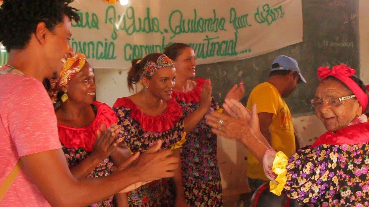 No programa especial em Monte Santo, o Vumbora visita o quilombo Lage do Antônio