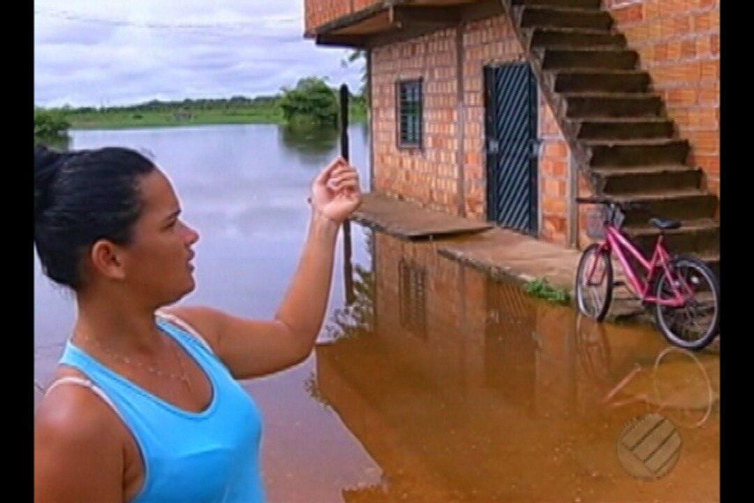 Fortes chuvas castigam região sudeste do Pará