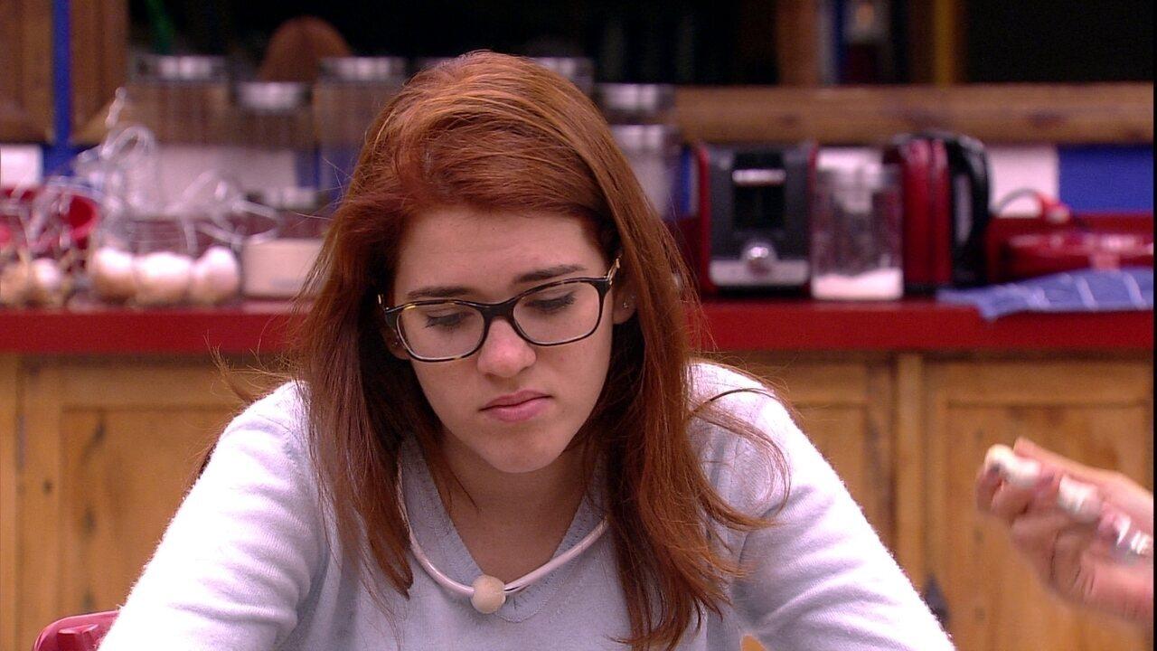Ana Clara fala da chance de deixar o BBBB: 'Não quero sair agora'