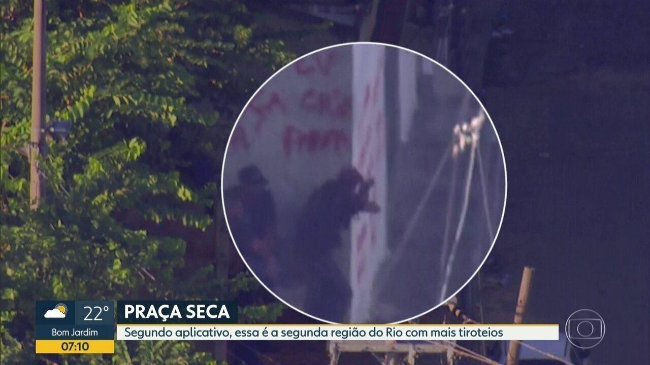Guerra de bandidos leva pânico à Praça Seca na última semana de março