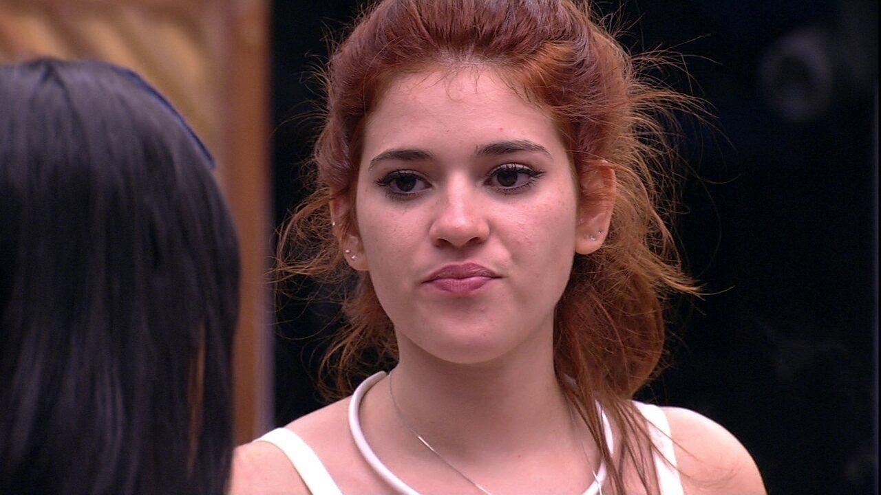 Ana Clara diz a Gleici sobre próximo Paredão: 'Espero que eu e você não estejamos'