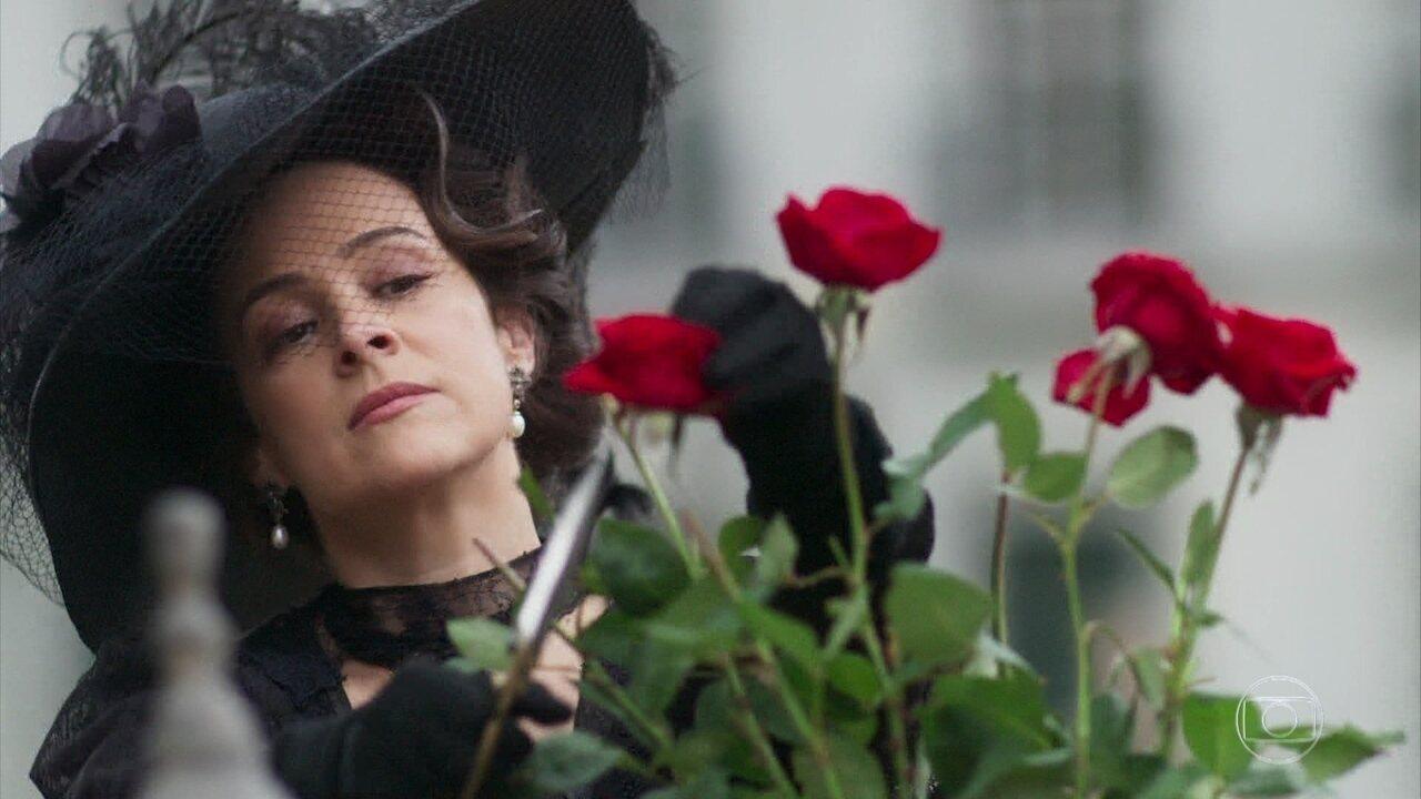 Julieta se tornou uma mulher fria, com dificuldades de demonstrar seus sentimentos. E nesse capítulo a gente descobriu o motivo... o rancor que sente do ex-marido. Que cenão!