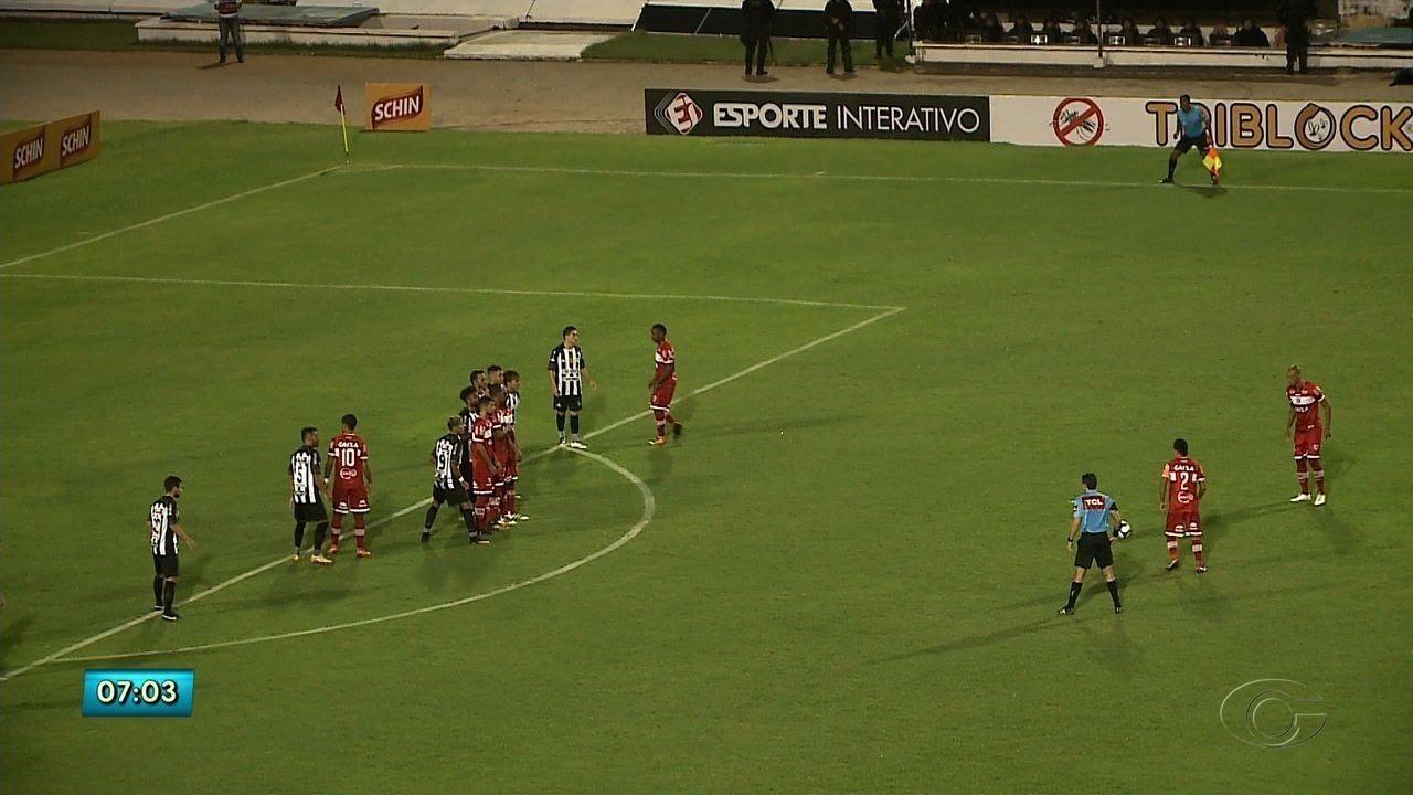 CRB vence o Treze no Rei Pelé e se classifica para as quartas de final da Copa do Norteste