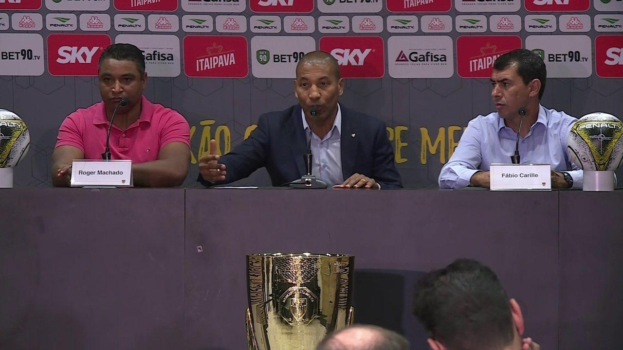 Carille troca treino por conversa, e Corinthians tem dúvidas para final
