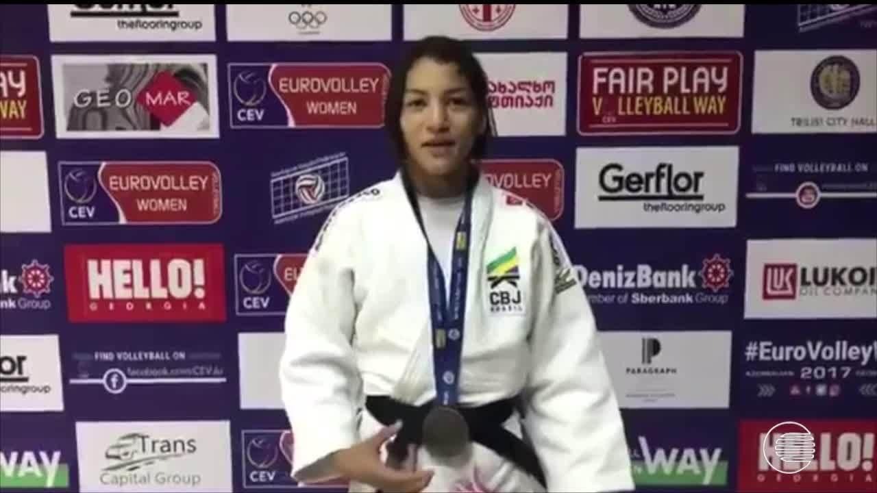 Sarah Menezes garante bronze no Grand Prix da Geórgia