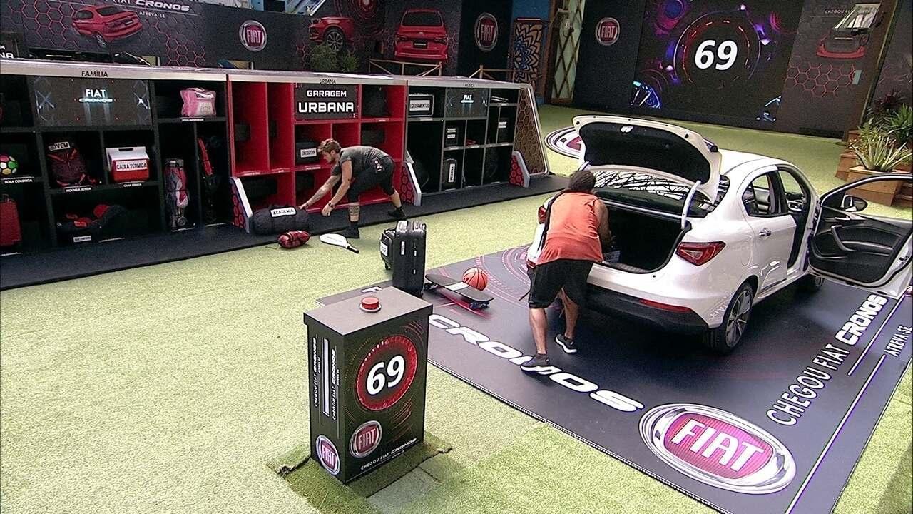 Viegas e Breno colocam bagagens de volta na Garagem Urbana