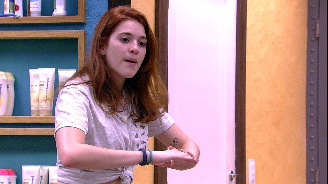 Ana Clara afirma sobre Prova do Líder: 'Eu preferia que tivesse perdido dormindo'