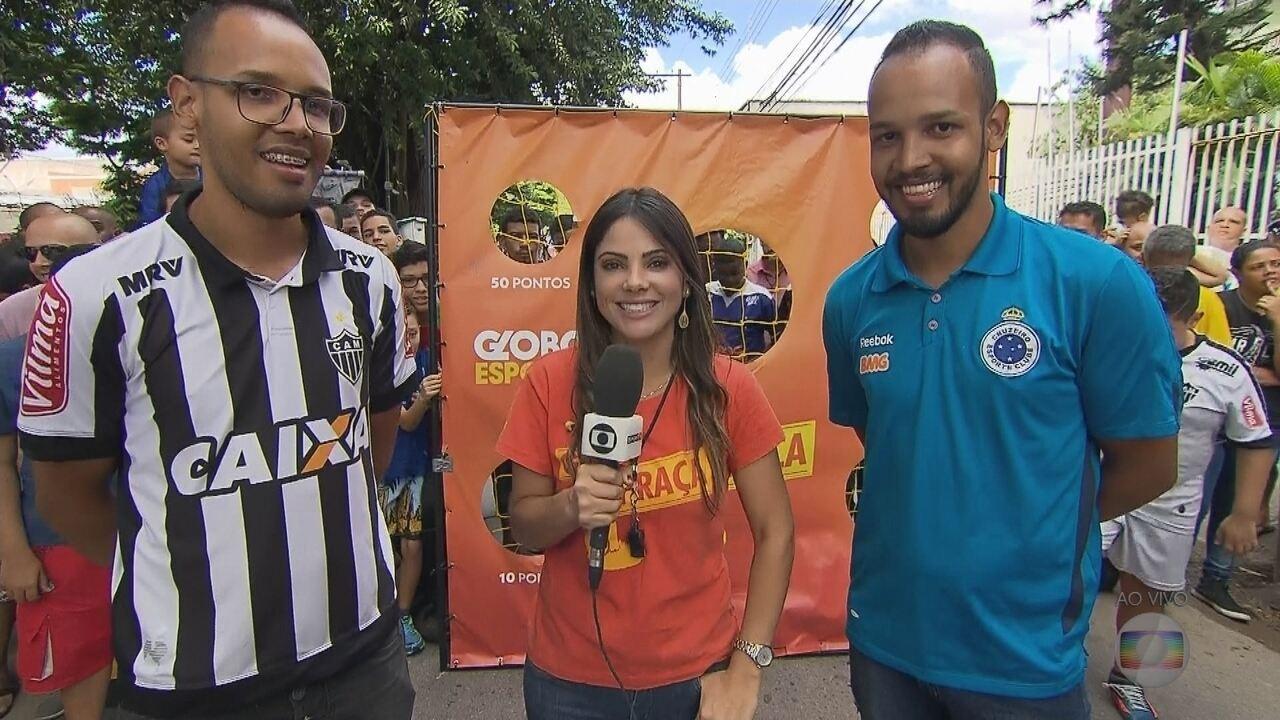 GE na Praça: gêmeos, atleticano e cruzeirense palpitam sobre a grande final do Mineiro