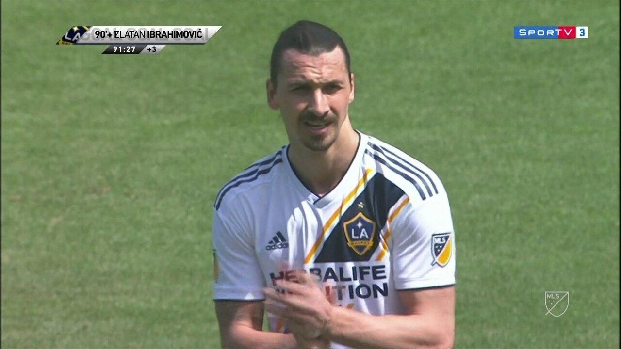 Ibrahimovic estreia pelo LA Galaxy com golaço