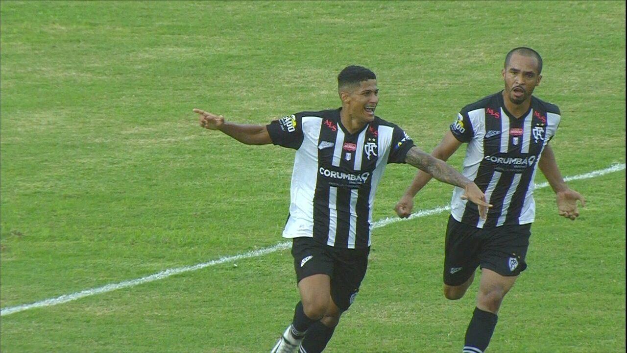 Mutuca abre o placar no primeiro jogo da final do Sul-Mato-Grossense