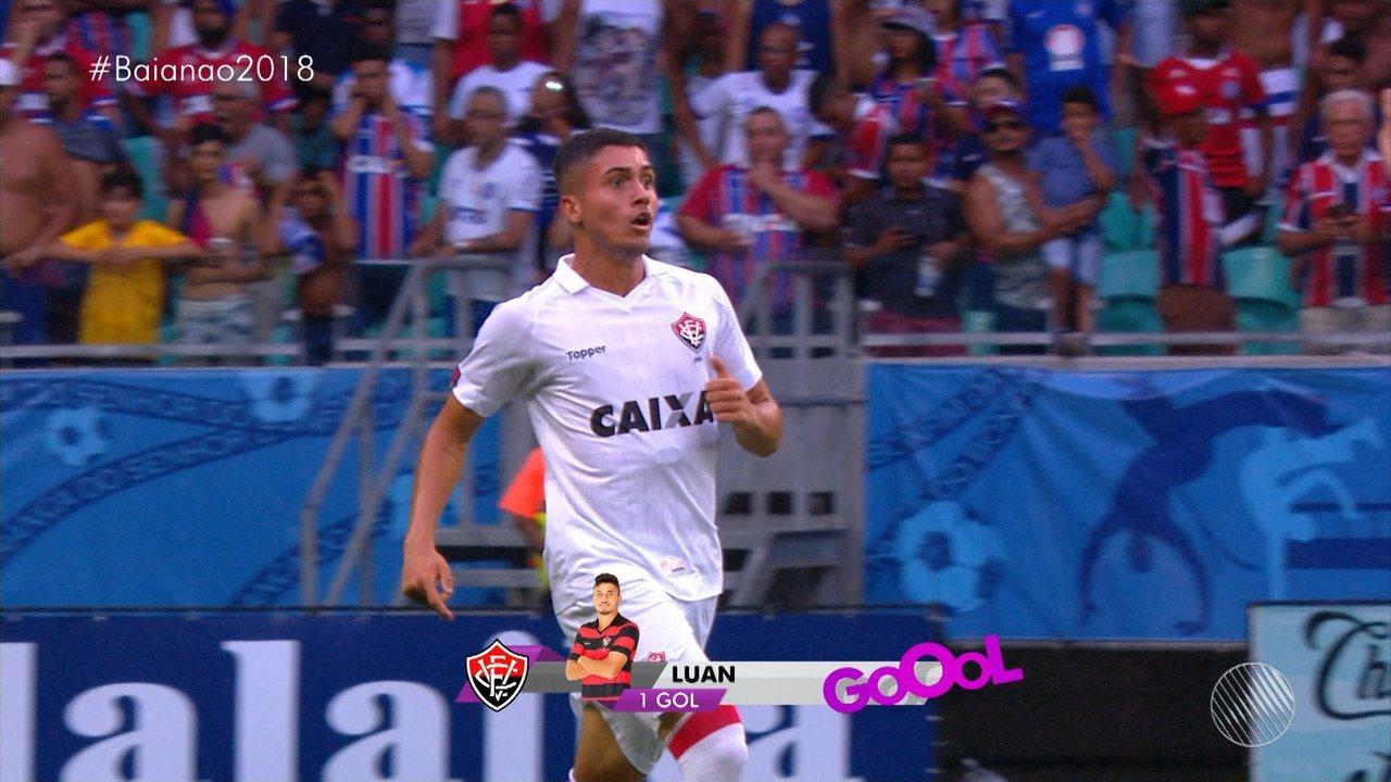 13': Gol do Vitória!
