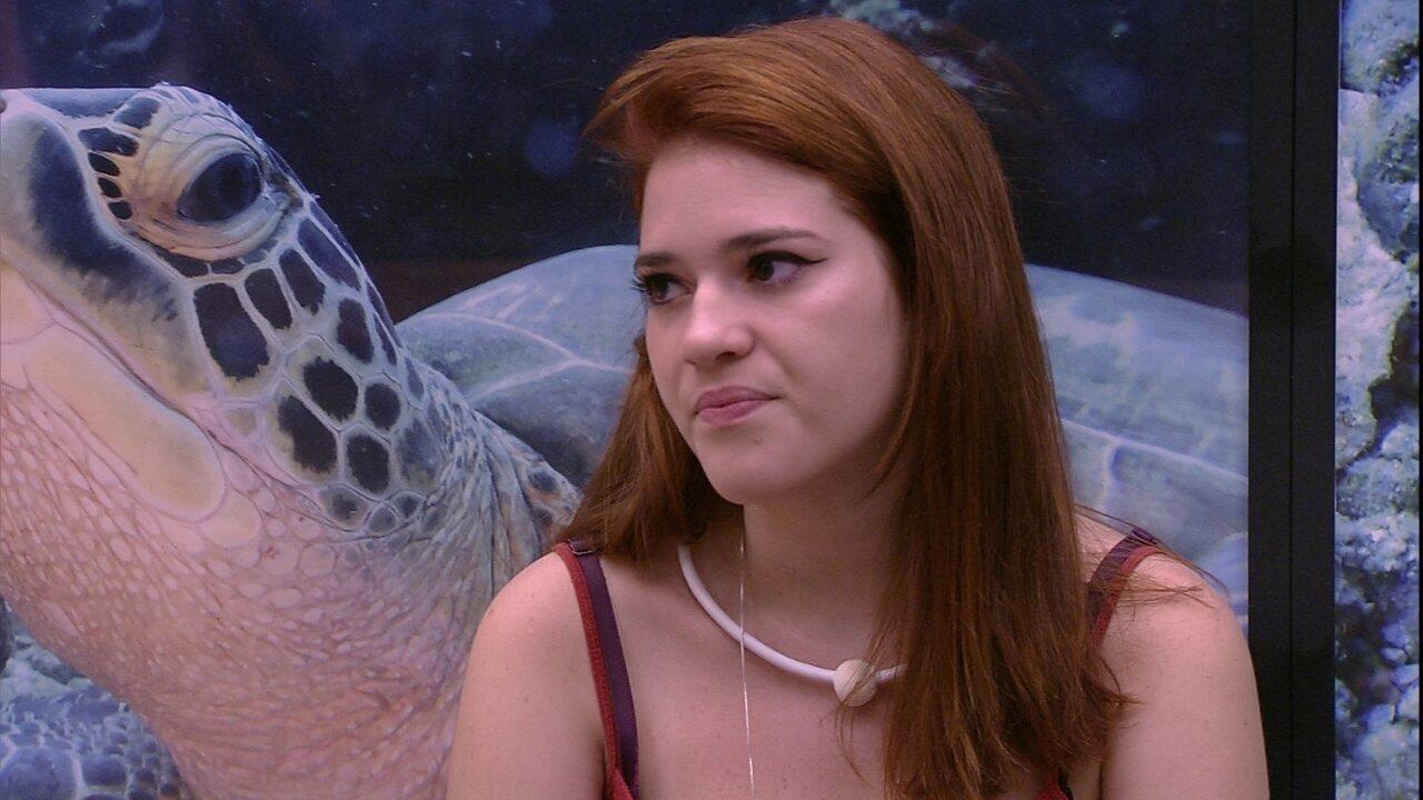 Ana Clara sobre Viegas: 'Está se agarrando ao último fio de esperança'