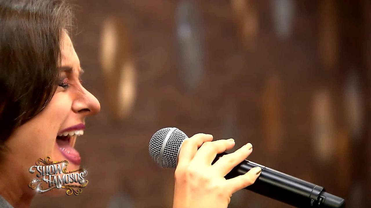Confira o ensaio de Alessandra Maestrini para o Show dos Famosos