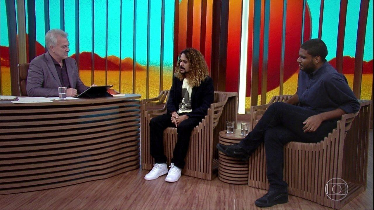 Geovani Martins e Edu Carvalho falam sobre Marielle Franco