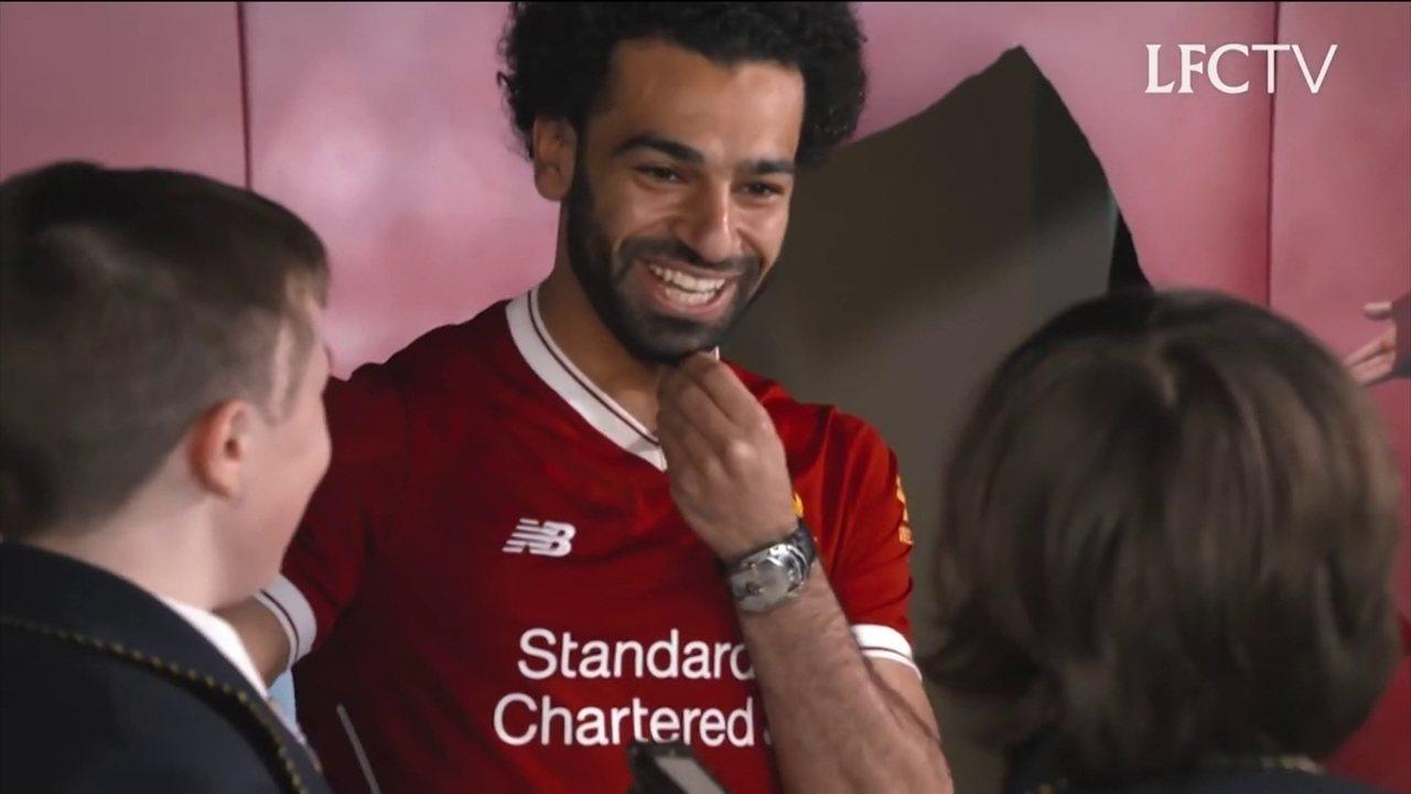 Conheça uma pouco da carreira de Salah, atacante do Liverpool