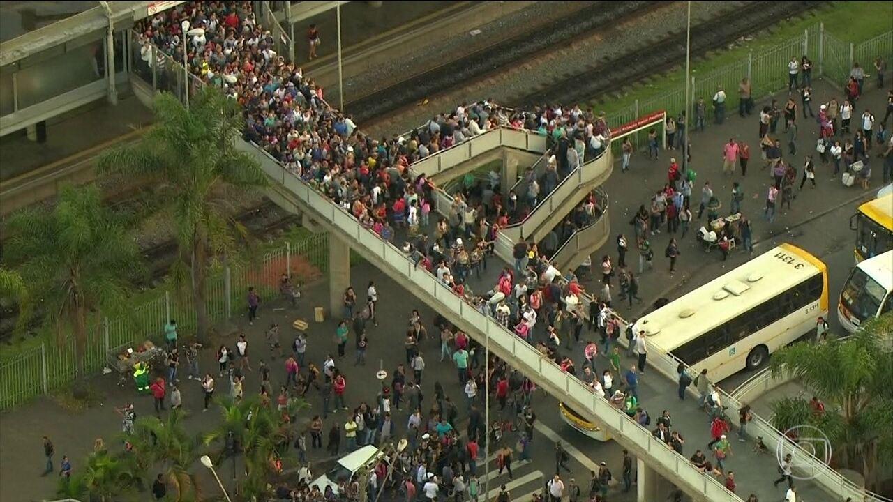 Furto de fios prejudica circulação de trens na zona leste de São Paulo