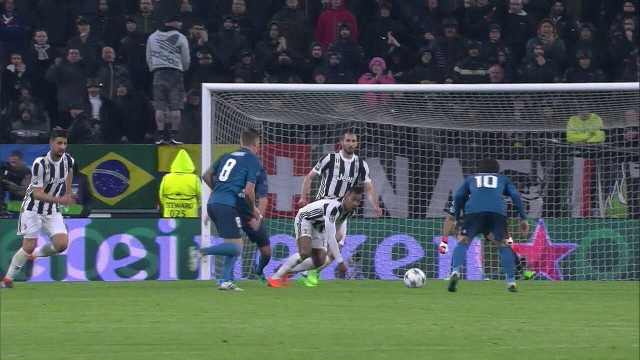 Melhores momentos: Juventus 0 x 3 Real Madrid pelas quartas de final da Liga dos Campeões