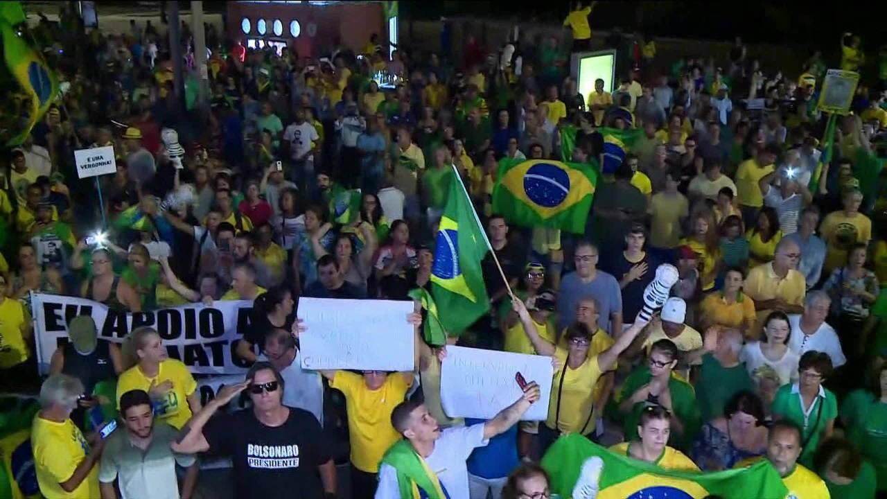 País tem manifestações a favor da prisão em 2ª instância