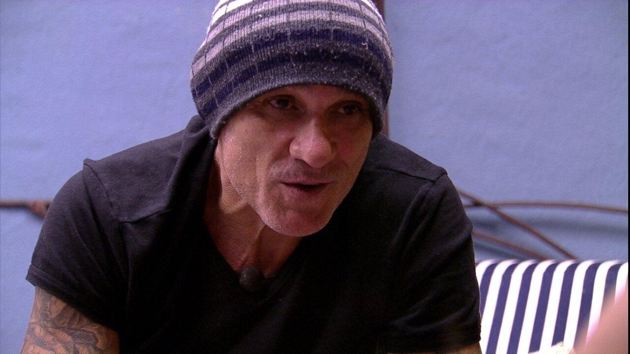 Ayrton admite para Kaysar: 'Pessoa que eu tenho menos afinidade é o Viegas'