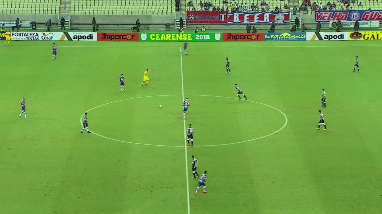 Confira os melhores momentos de Ceará 2 x 1 Fortaleza, pelo Campeonato Cearense