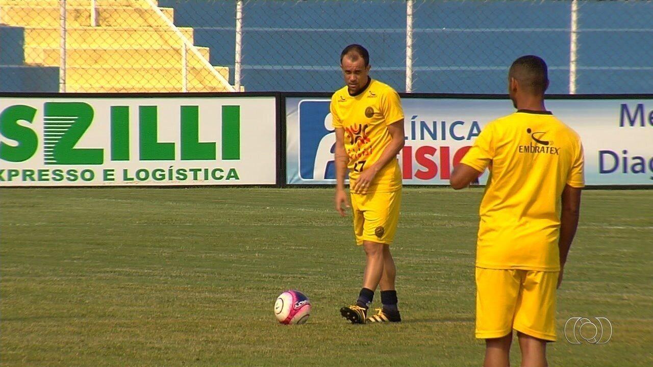 Aparecidense tem a volta de Rafael Cruz para o segundo jogo da final