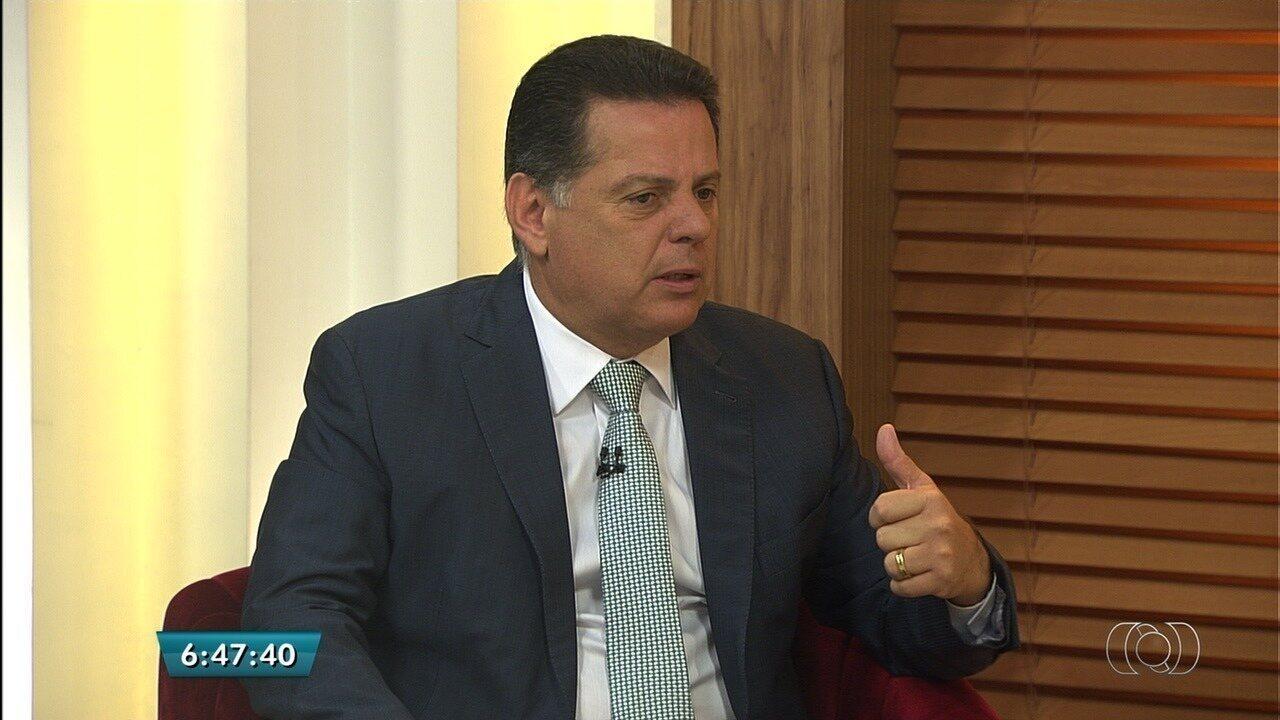 Prestes a deixar cargo para disputar eleições, Marconi faz balanço da gestão em Goiás