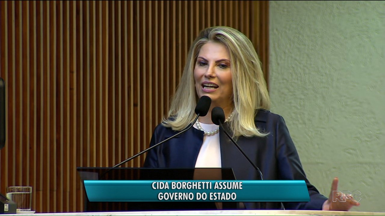 Cida Borghetti assume governo do estado