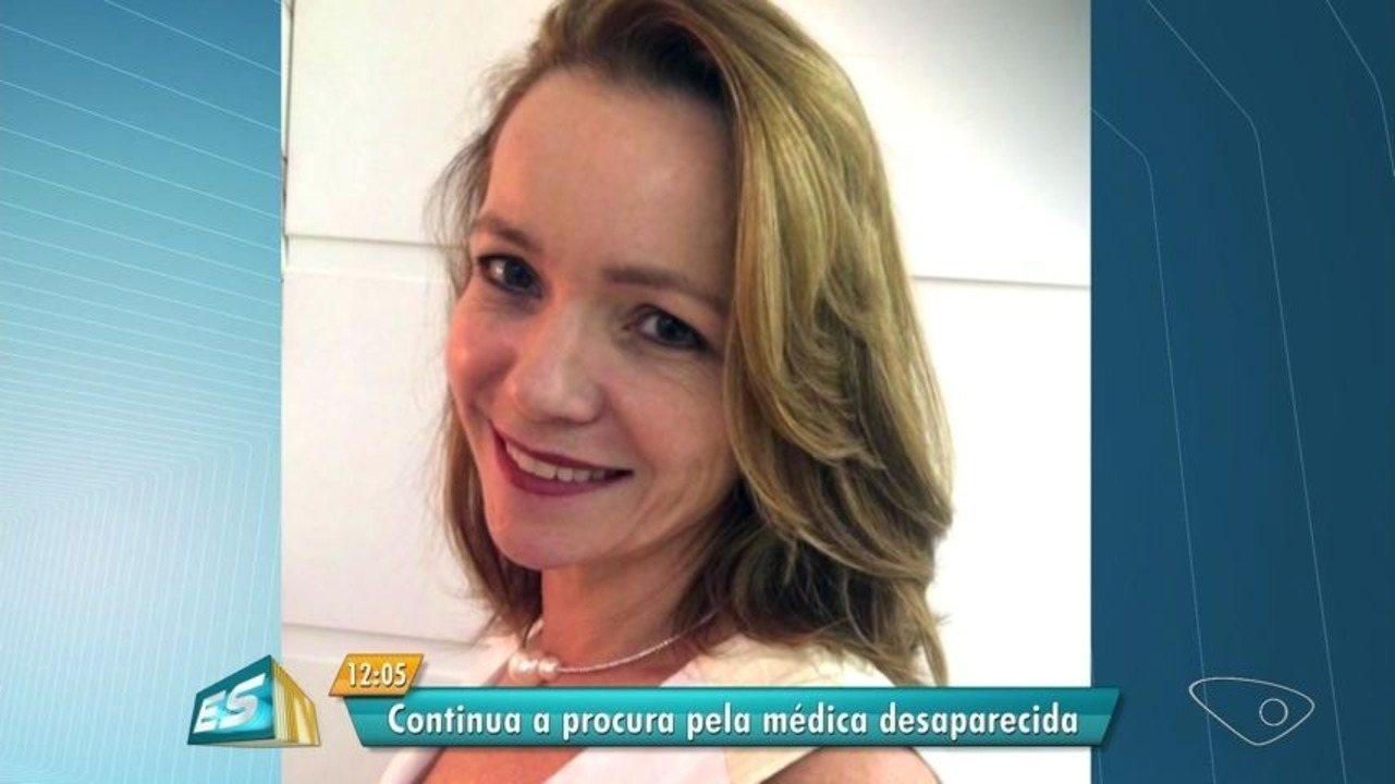 Buscas por médica que sumiu no ES seguem para outros estados