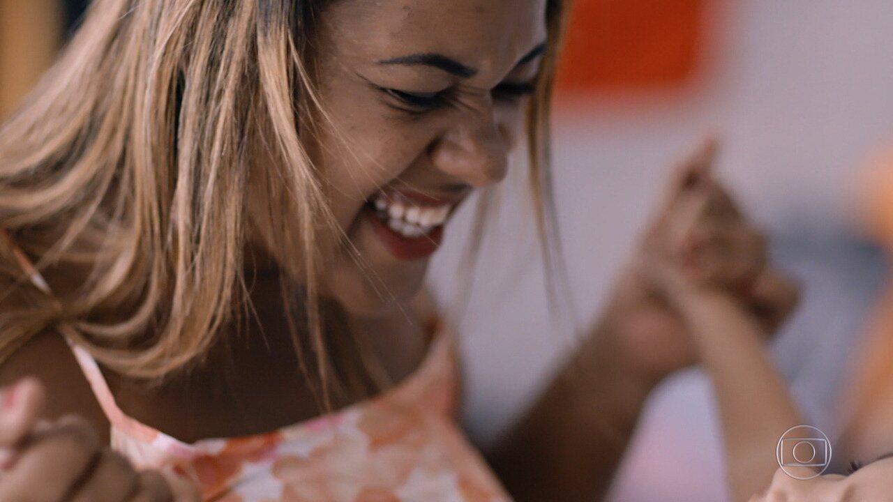 Germana Soares é a primeira história inspiradora do Caldeirão