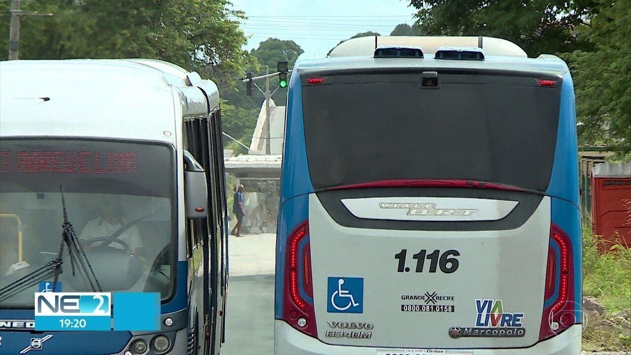 Estações de BRT que estavam interditadas na PE-15, em Olinda, voltam a funcionar