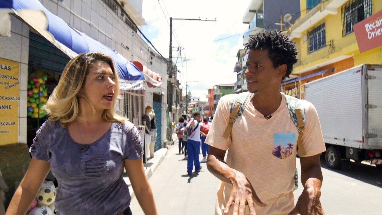 O 'Vumbora' faz um passeio no bairro de São Caetano