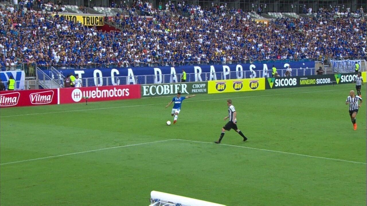 4da2afd471 Melhores momentos de Cruzeiro 2 x 0 Atlético-MG pela final do Campeonato  Mineiro