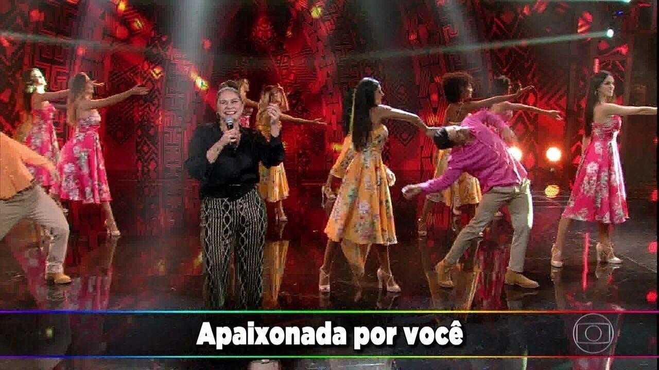 Fafá de Belém canta 'Apaixonada por Você'