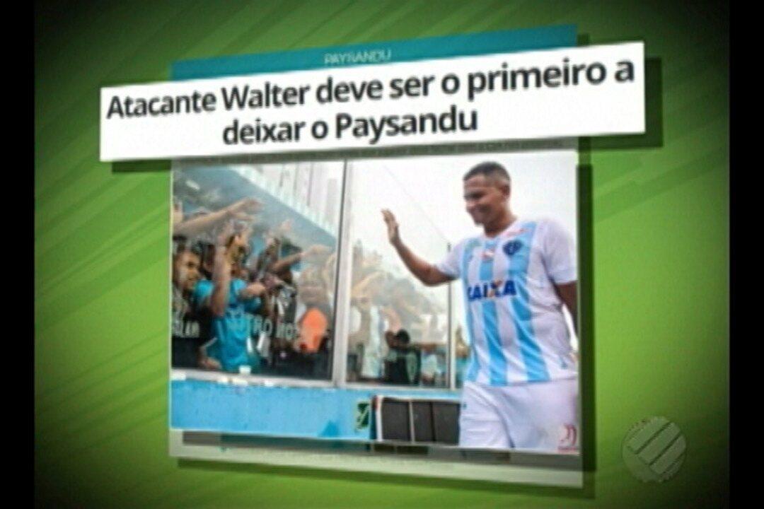 Walter deve deixar Paysandu nas próximas horas