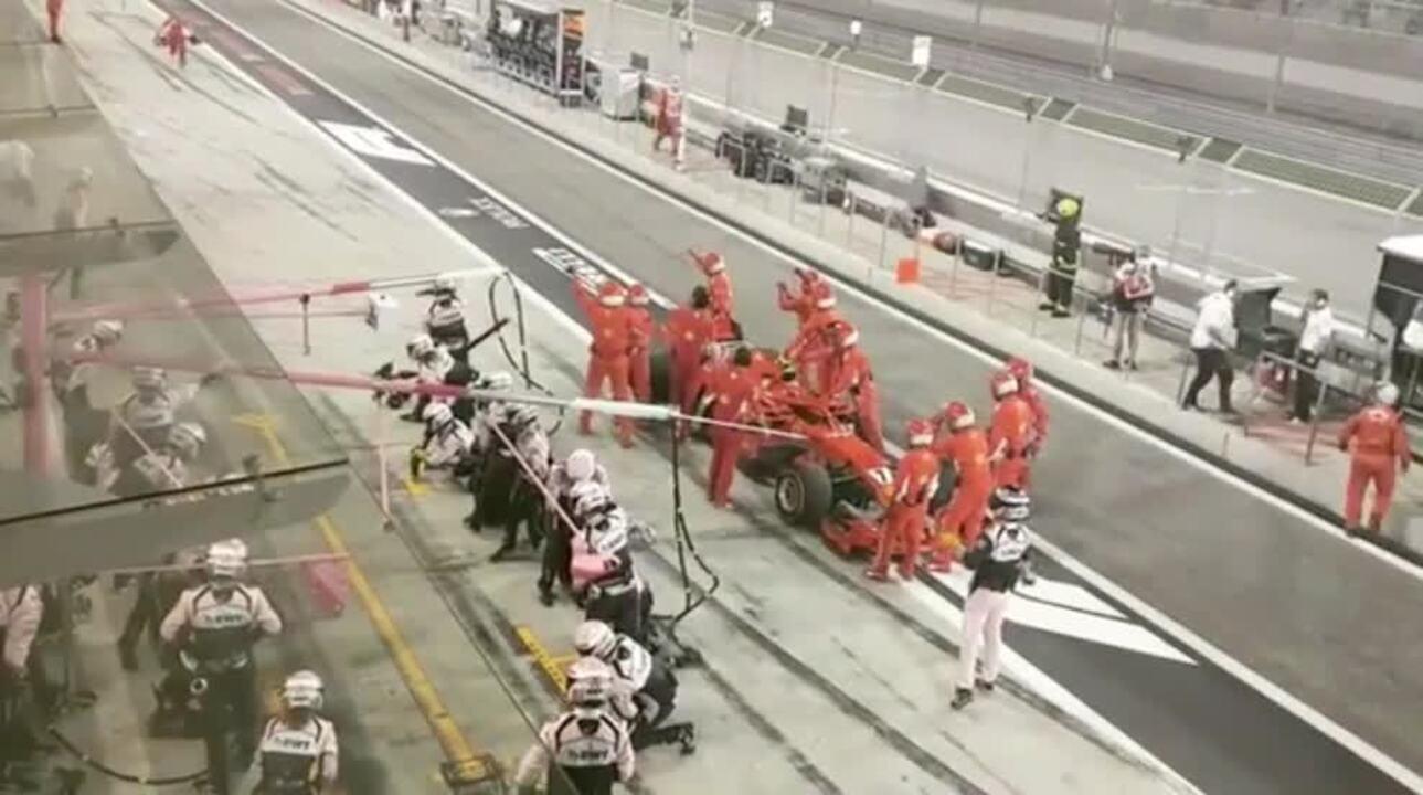 Outro mecânico da Ferrari quase é atropelado por Force India