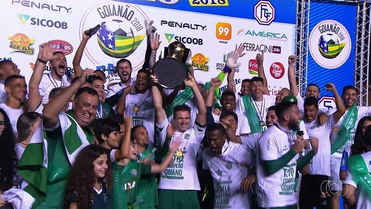 55e2426d43 Veja os bastidores do 28º título do Goiás no Goianão