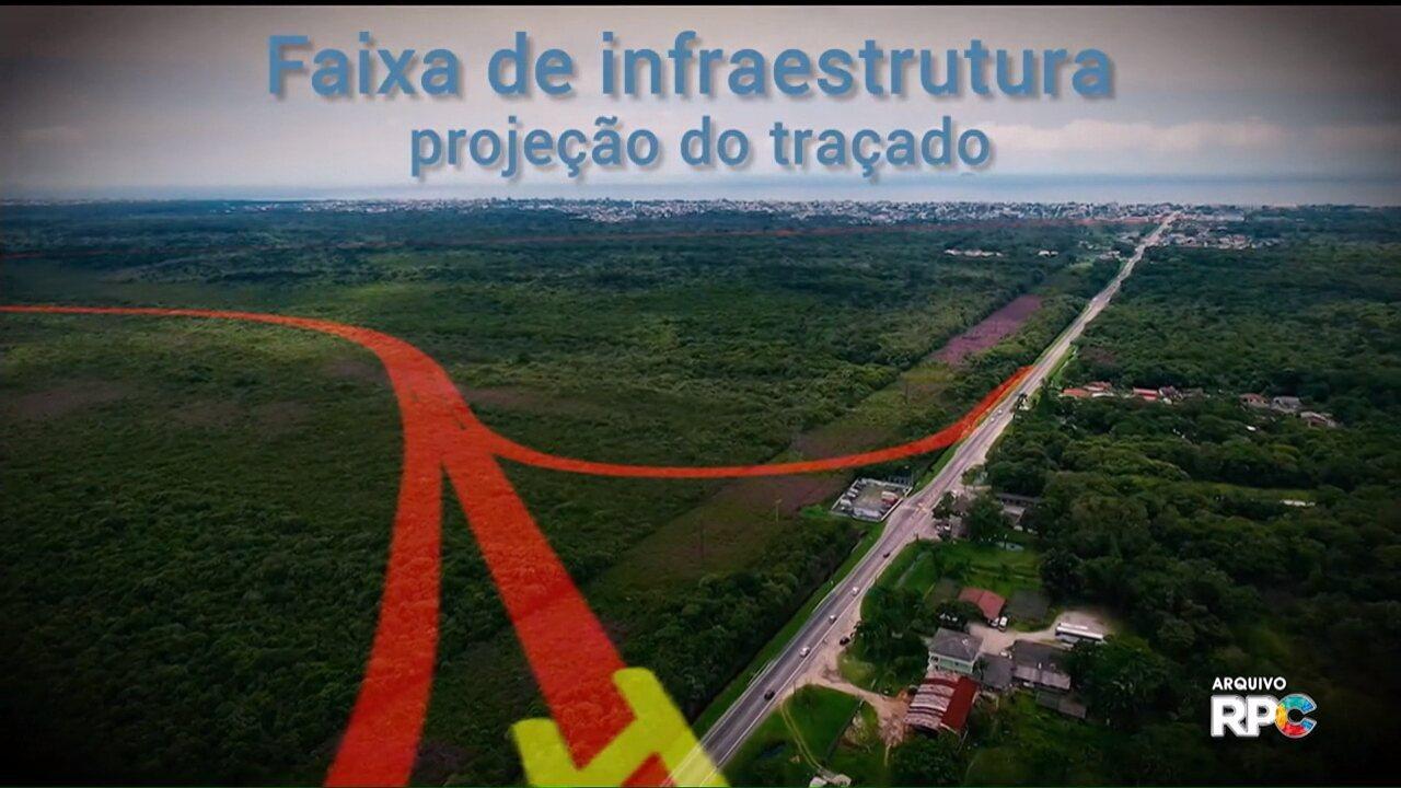 Governo começa desapropriação de áreas para a construção da Faixa de Infraestrutura
