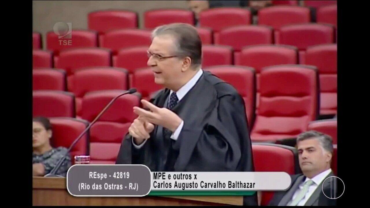 TSE nega registro de candidatura de Carlos Augusto