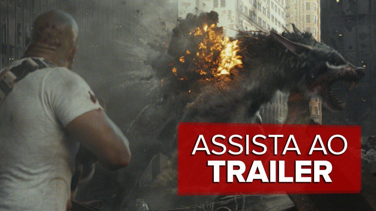 Assista ao trailer de 'Rampage: Destruição total'