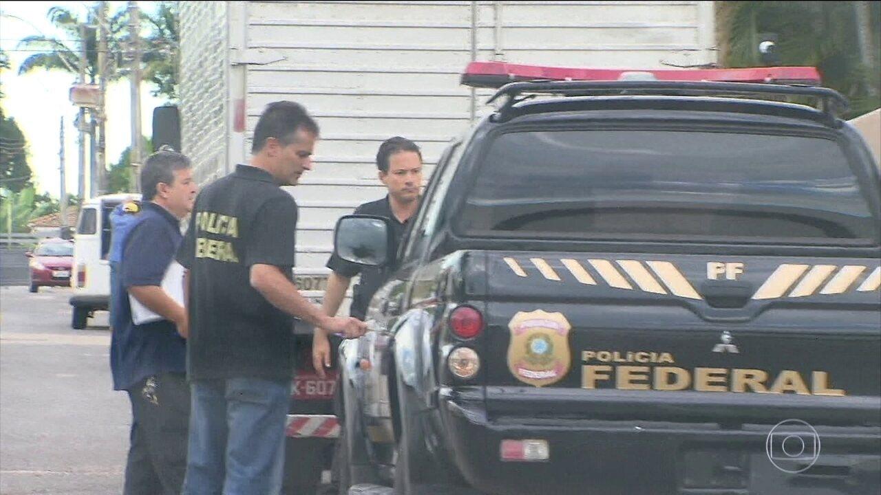 Investigações da Operação Rizoma começaram em outubro de 2017