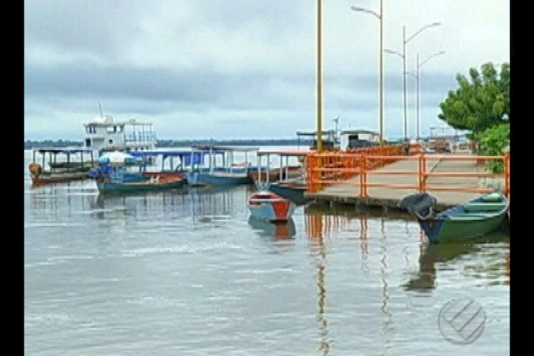 Rio Tocantins alcançou o nivel mais alto este ano: 11 metros e 72 centimetros