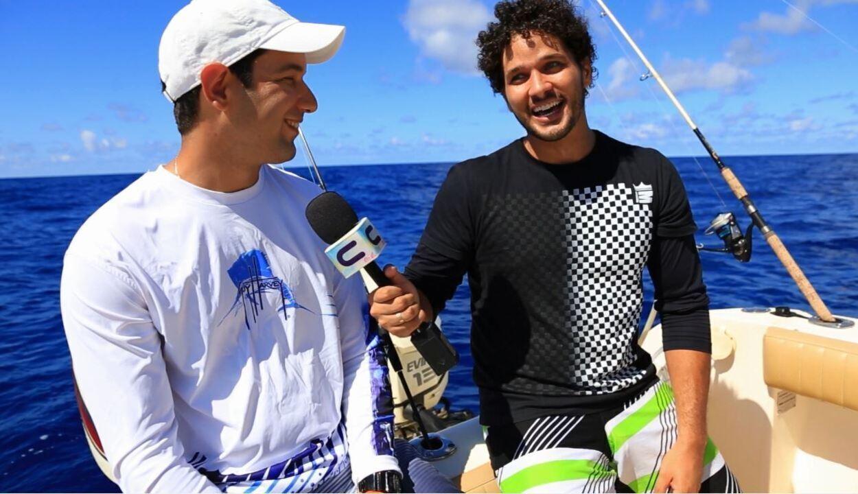 Brucce Cabral encara a pesca oceânica