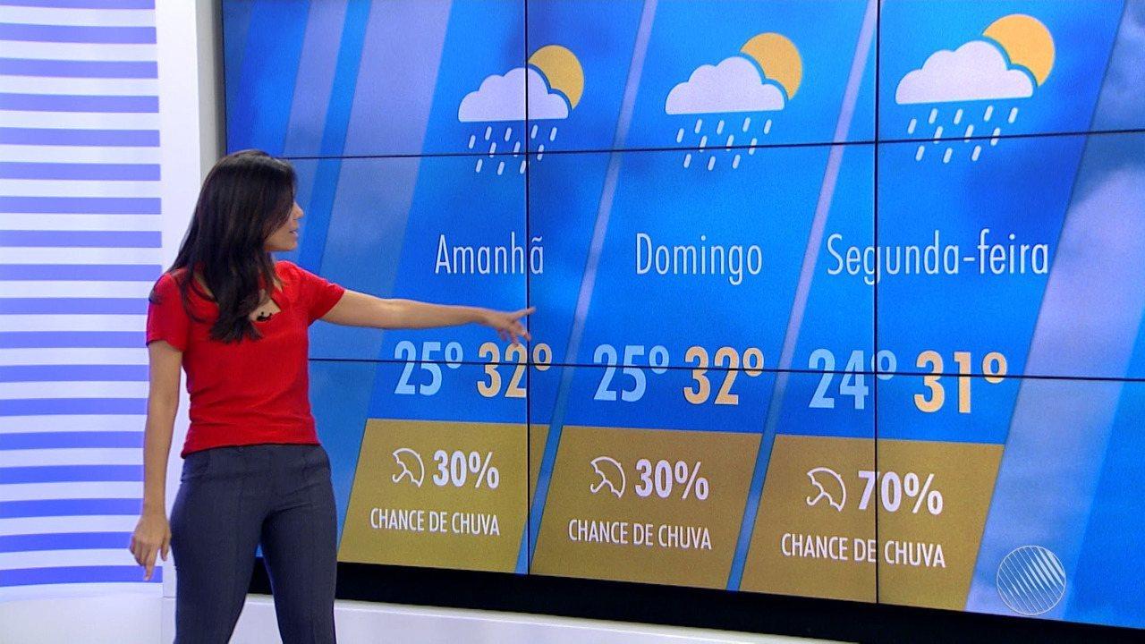 Fim de semana deve ter predomínio de sol na capital baiana; veja a previsão do tempo