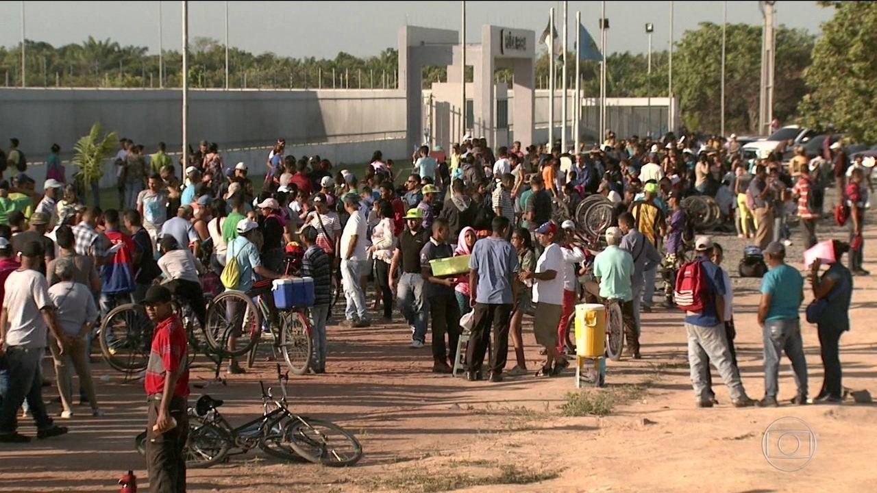 Governo de Roraima pede ao STF fechamento da fronteira com Venezuela
